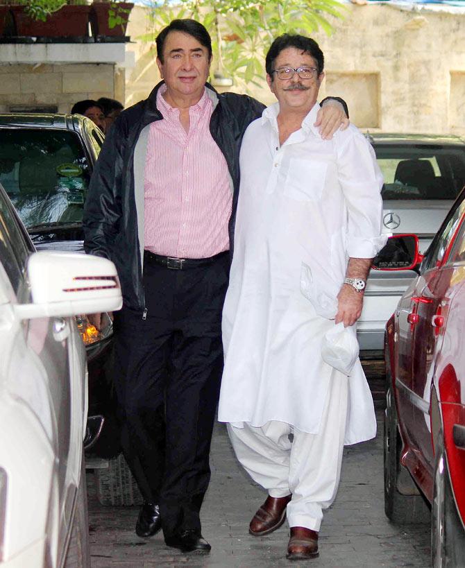 Shashi Kapoor Christmas Party Part - 24: Kunal And Randhir Kapoor
