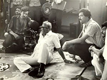 K Balachander with Suresh Krissna