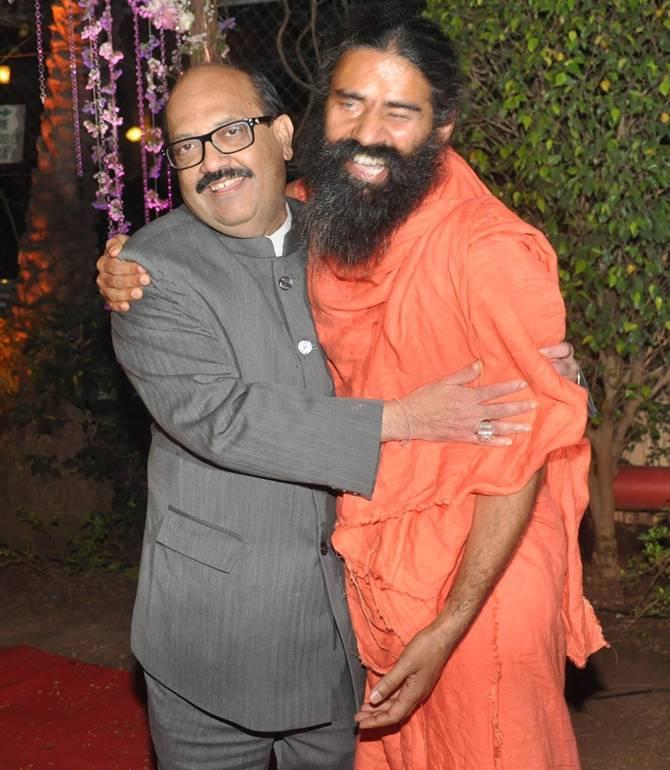 Amar Singh and Ramdev