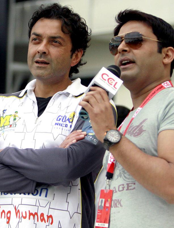 Bobby Deol, Kapil Sharma