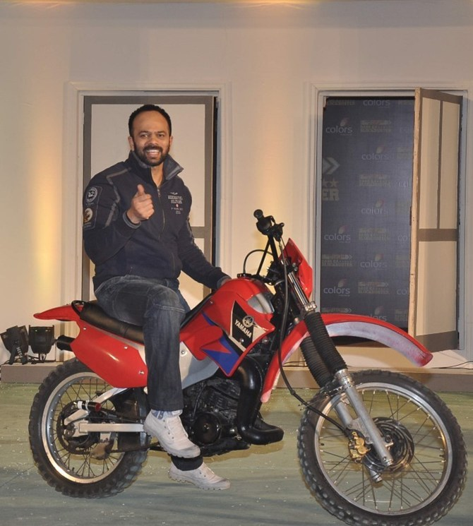 Rohit Shetty at the Khatron Ke Khiladi launch