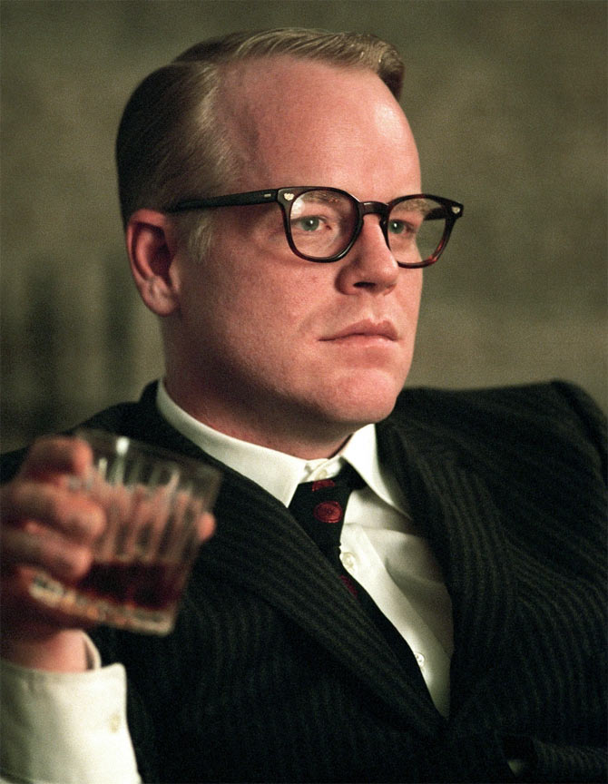 Phillip Seymour Hoffman in Capote