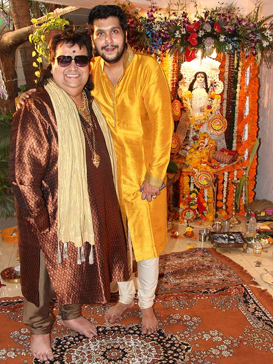 Bappi and Bappa Lahiri