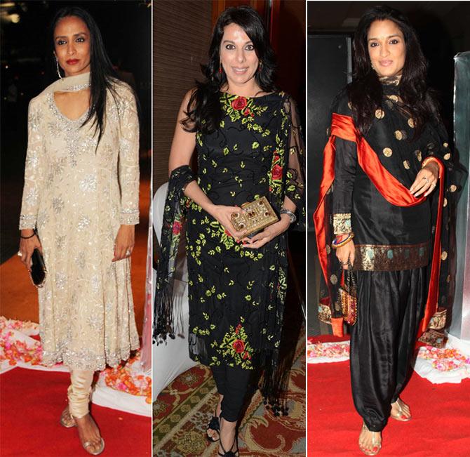 Suchitra Pillai, Pooja Bedi, Sandhya Mridul