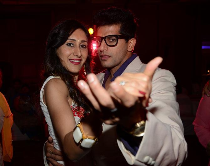 Teejay Sidhu and Karanveer Bora