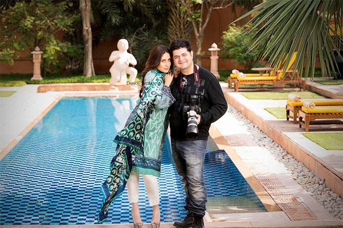 Kareena Kapoor and Dabboo Ratnani