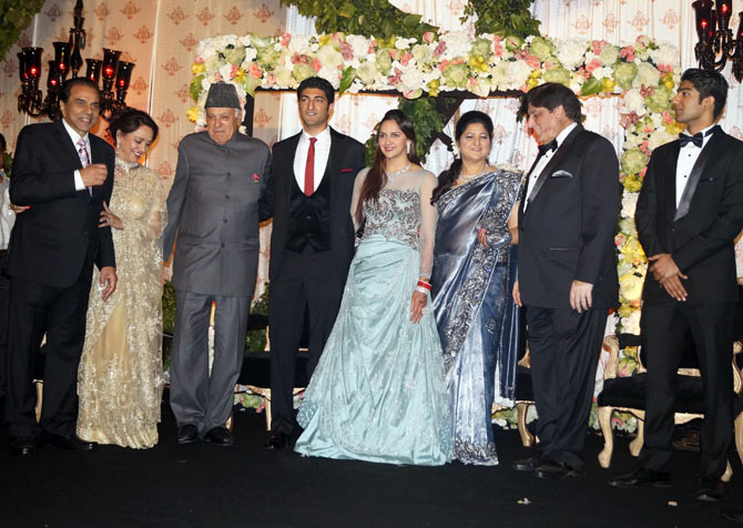 Dr Farooq Abdullah with the family