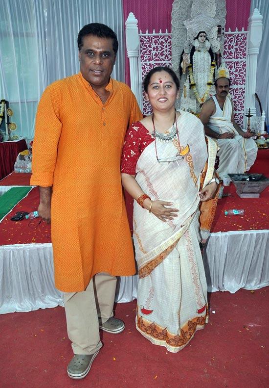 Ashish and Rajoshi Vidyarthi