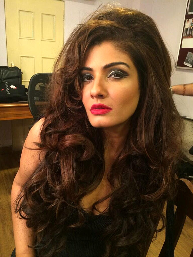 Raveena Tandon in Bombay Velvet