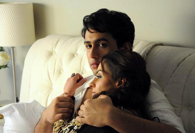 Adhyayan Suman and Ariana Ayam in Heartless