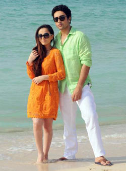Ariana Ayam and Adhyayan Suman in Heartless