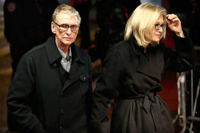 Mike Nichols and Diane Sawyer