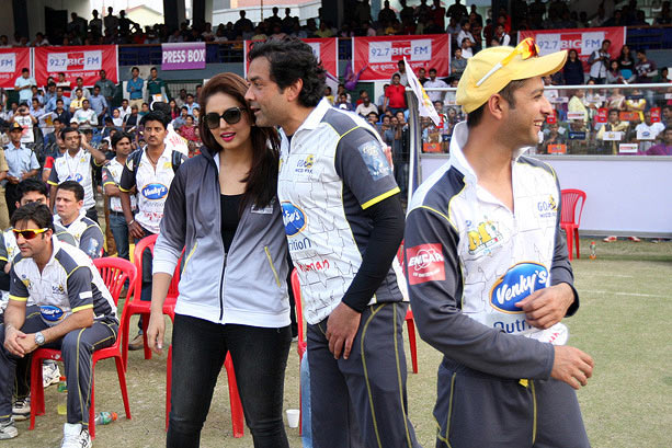 Bobby Deol, Huma Qureshi and Vatsal Seth