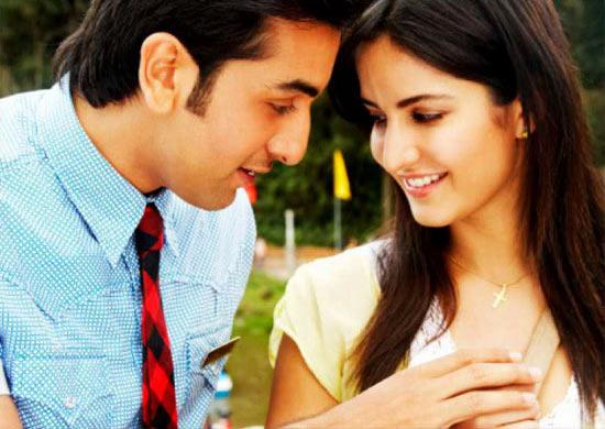 Ranbir Kapoor and Katrina Kaif in Ajab Prem Ki Gazab Kahani
