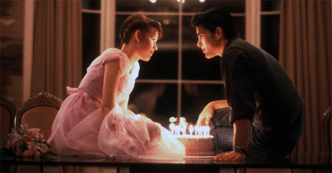 Movie still from Sixteen Candles