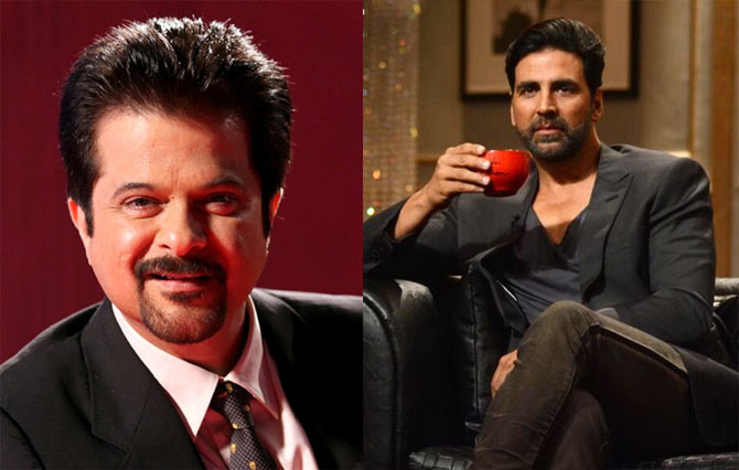 Anil Kapoor and Akshay Kumar