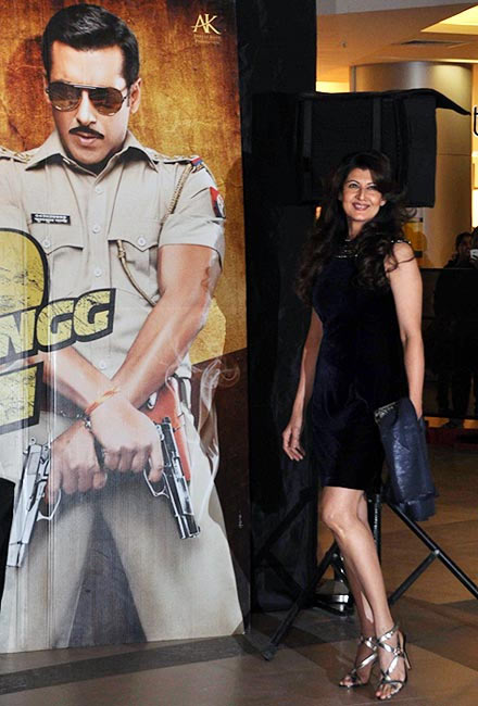 Sangeeta Bijlani at the Dabangg 2 screening in 2012.