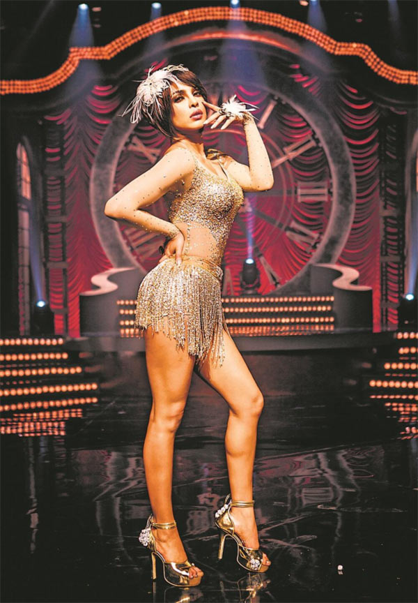 Priyanka Chopra plays a cabaret dancer in Gunday.