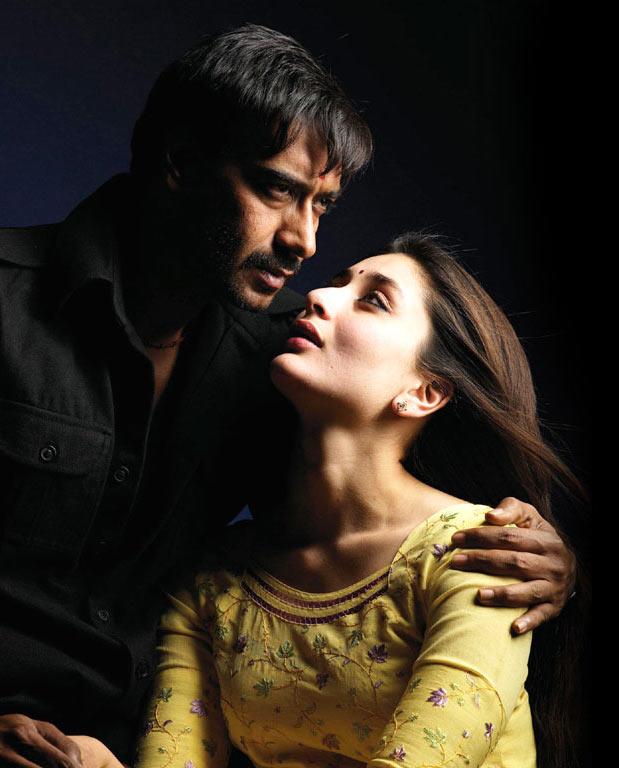 Kareena Kapoor and Ajay Devgn in Omkara