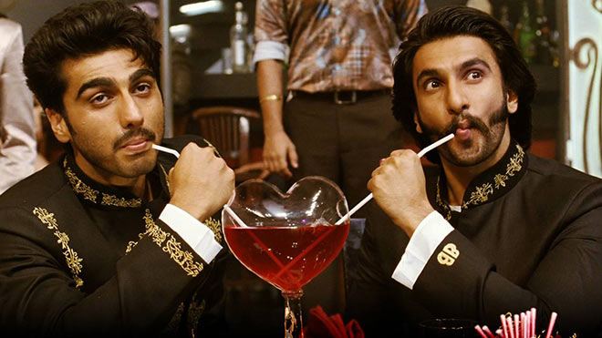 Arjun Kapoor and Ranveer Singh in Gunday