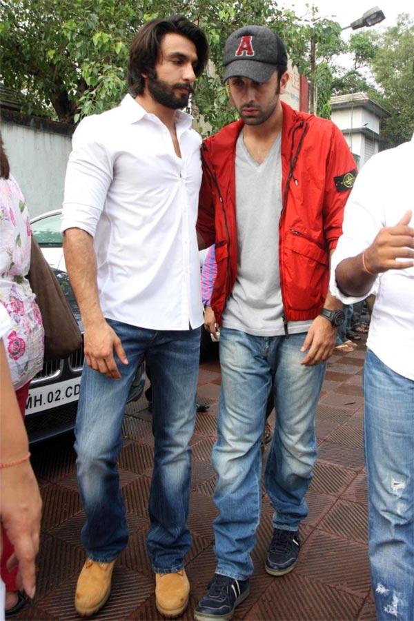 Ranveer Singh and Ranbir Kapoor