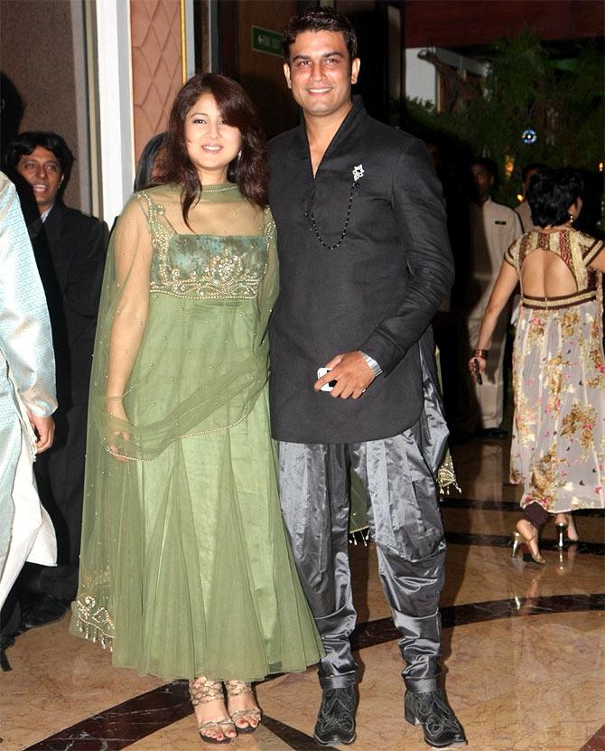 Keerti Gaekwad and Sharad Kelkar