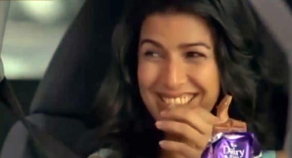 Nimrat Kaur in Cadbury ad