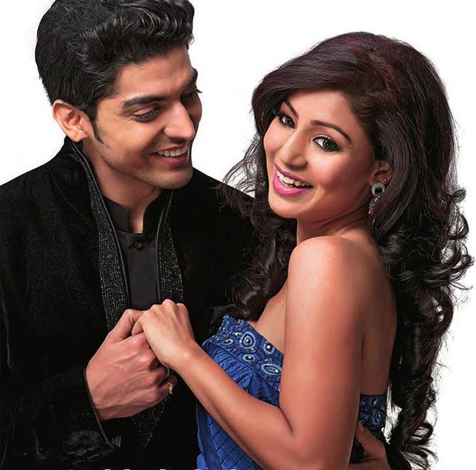 Gurmeet Choudhary and Debina Bonerjee