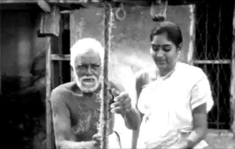 A scene from Sandhya Raagam