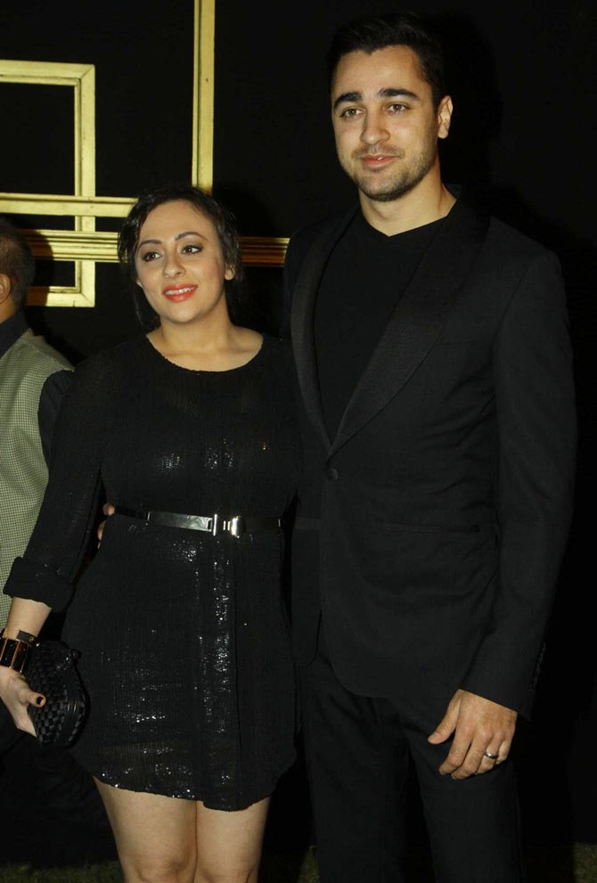 Avantika Mallik and Imran Khan