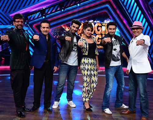 Jaaved Jafferi, Ravei Behl, Arjun Kapoor, Priyanka Chopra, Ranveer Singh, Naved Jafferi