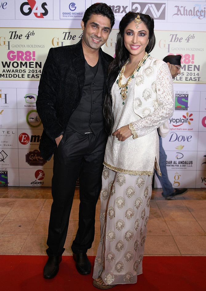 Mazhar Khan and Mouli Ganguly