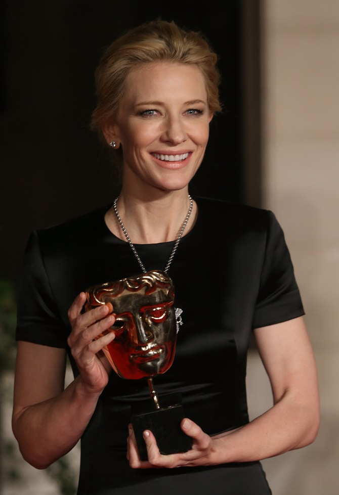 BAFTA 2014: Cate Blanchett, 12 Years A Slave, Gravity win