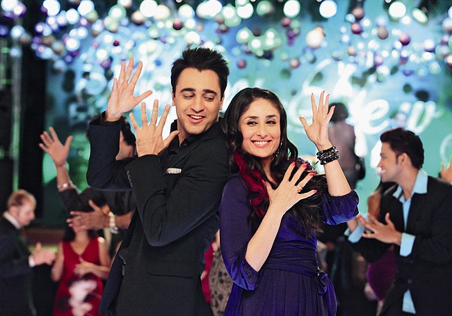Imran Khan and Kareena Kapoor in Ek Main Aur Ekk Tu