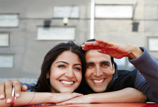 Anushka Sharma and Akshay Kumar in Patiala House