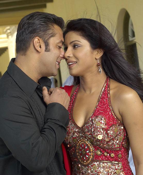 Salman Khan and Priyanka Chopra in God Tussi Great Ho