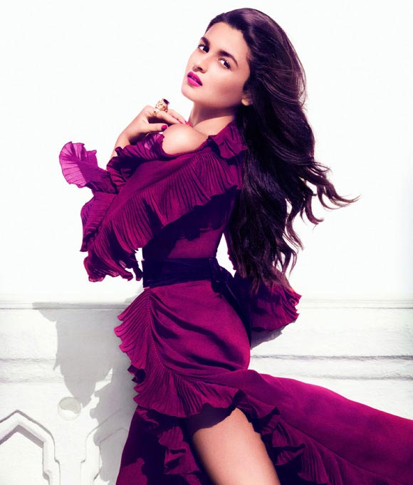 Alia Bhatt in Vogue