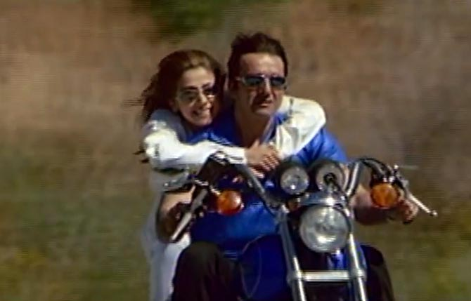 Sanjay Dutt and Urmila Matondkar in Daud