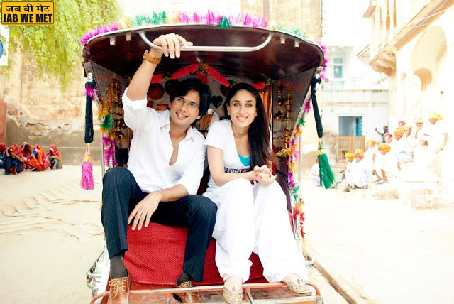 Shahid and Kareena Kapoor in Jab We Met