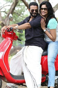 Jayasurya and Nyla Usha in Punyalan Agarbathis