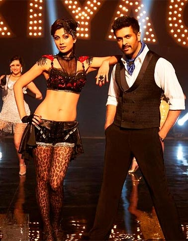 Shilpa Shetty with Harman Baweja in Dhishkiyaoon