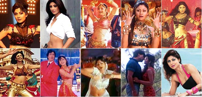 Shilpa Shetty's HOTTEST song? VOTE!
