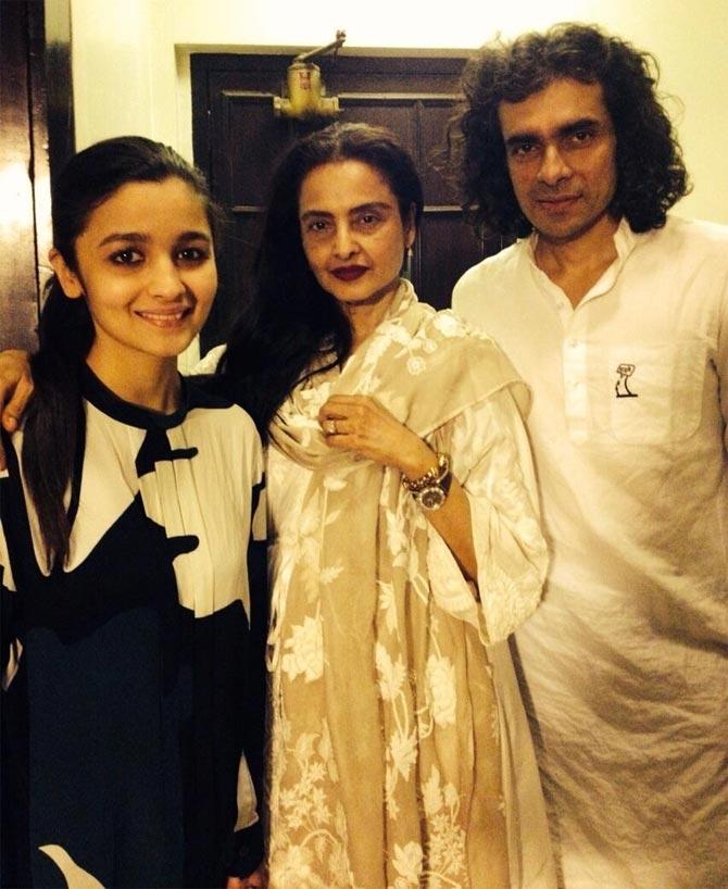 Alia Bhatt, Rekha and Imtiaz Ali