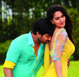 Nani and Vaani Kapoor in Aaha Kalyanam