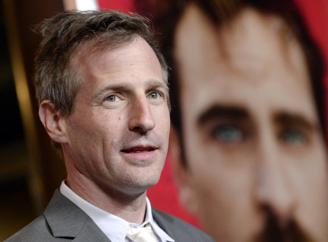 Spike Jonze a the premiere of Her at Directors Guild of America in Hollywood er