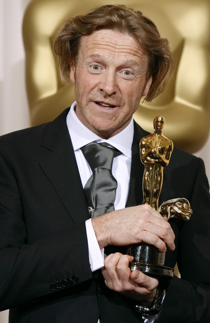 Anthony Dod Mantle at the 81st Academy Awards