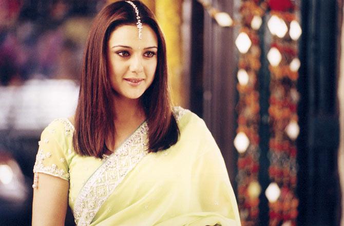 Preity Zinta in Kal Ho Naa Ho