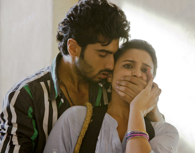Arjun Kapoor in Parineeta Chopra in Ishaqzaade