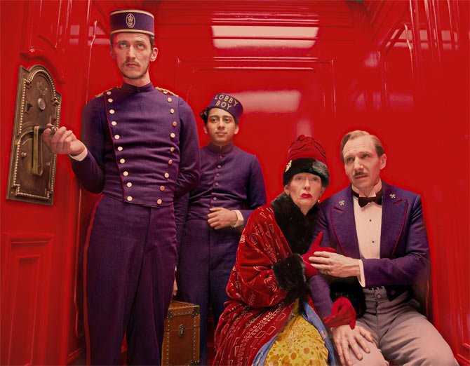 Movie still from The Grand Budapest Hotel