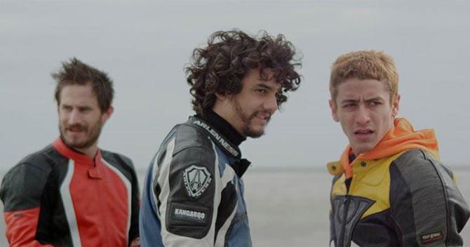 Movie still from Praia do Futuro